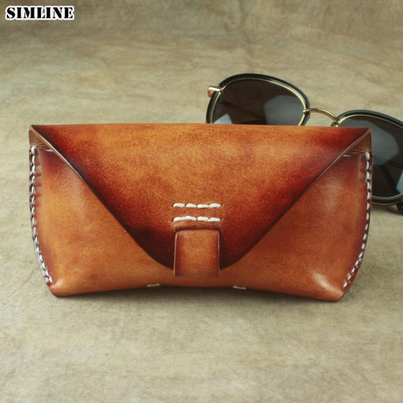 NEW Soft Leather Zipped Glasses Spectacles Case Holder by Golunski Handy Pocket