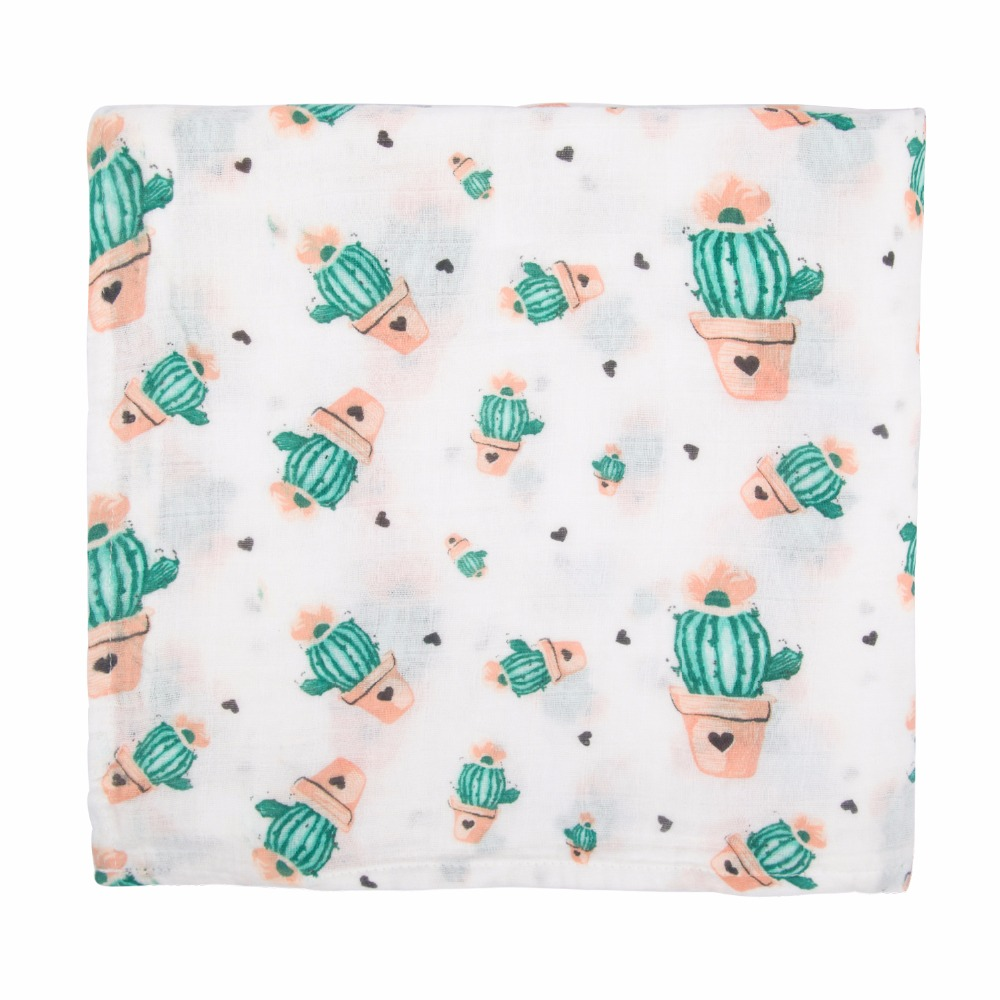 Free Shipping 100% Cotton Muslin Baby Swaddle Blanket Muslin Square Baby Warp Nursing Cover for Newborns Unisex