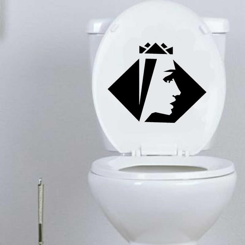 Super Beauty Queen Spa Bathroom Vinyl Toilet Decal Wall Sticker Decor 6Ws0197 Andrewgaddart Wooden Chair Designs For Living Room Andrewgaddartcom