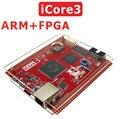 Быстрый Свободный Корабль iCore3 ARM FPGA двухъядерный плата Ethernet высокоскоростной USB STM32F407 промышленной платы управления