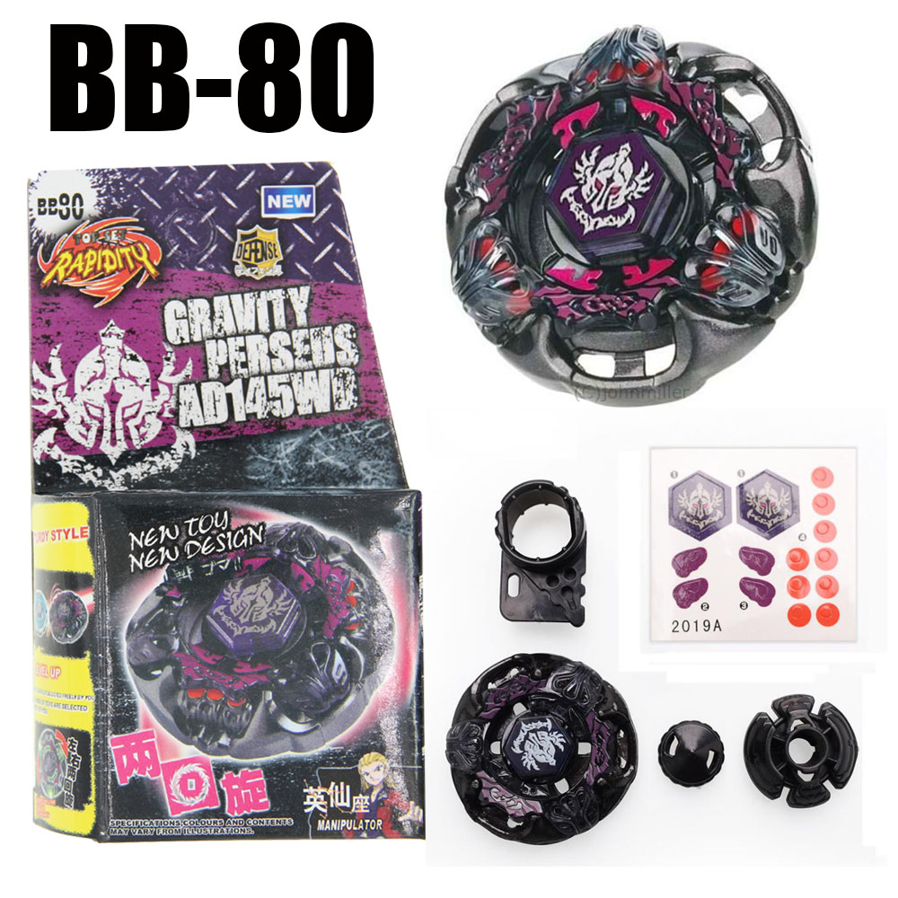 GRAVITY DESTROYER / PERSEUS AD145WD Metal Masters 4D Spinning Top BB80 NEW 4D Spinning Top Drop shopping