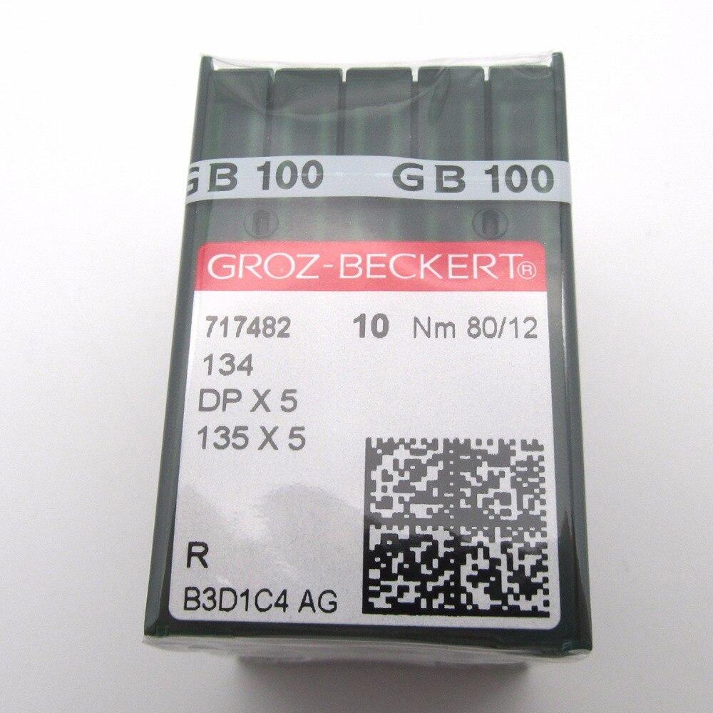100  GROZ-BECKERT 135X7  NEEDLES  same as 135X5 DPX7 134R  SIZE#18// 110