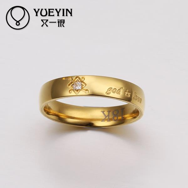NEW Fashion gold color jewelry finger ring for lady bijoux women