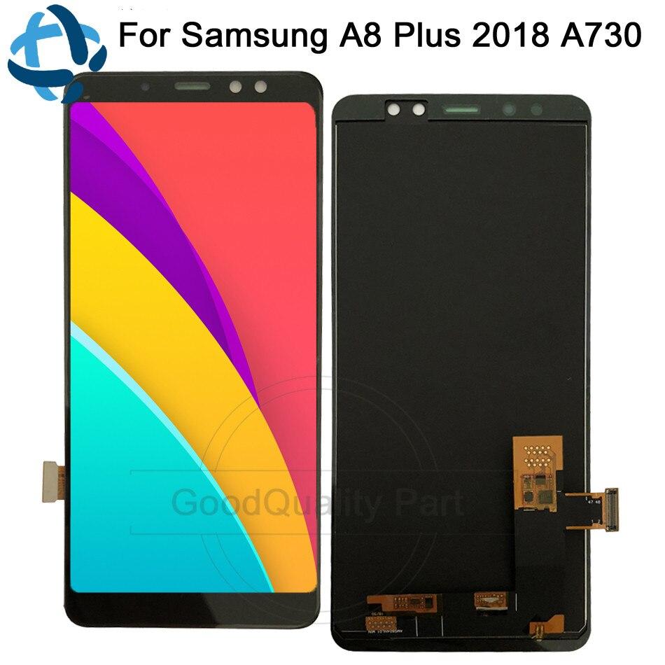 """6 """"dla Samsung Galaxy A8 Plus 2018 A730 wyświetlacz LCD ekran dotykowy Digitizer A730F A730F/DS A730x dla samsung A8 + Plus 2018 lcd w Ekrany LCD do tel. komórkowych od Telefony komórkowe i telekomunikacja na AliExpress - 11.11_Double 11Singles' Day 1"""