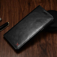 Original XOOMZ Wallet Case For Samsung Galaxy S8 Plus Luxury Genuine Leather Magnetic Flip Cover Phone