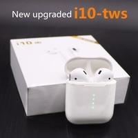 I10/i10-tws/i10 СПЦ/i9s мини Air Беспроводной стручки наушники Bluetooth гарнитуры наушники вкладыши наушников для apple Andorid Iphone