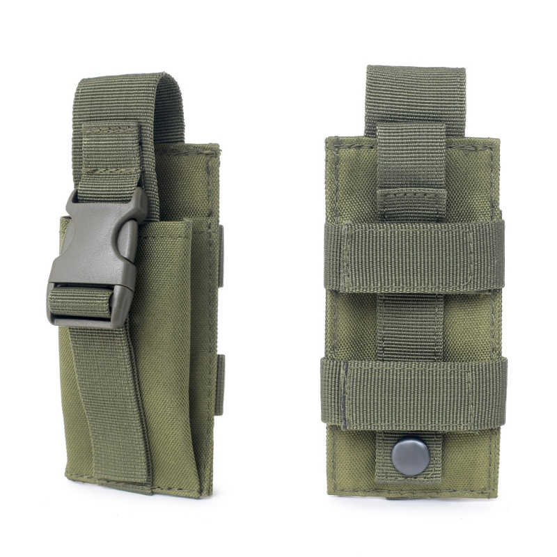 Good! Hunting Ammo Camo Bags Military Molle Pouch Tactical Single Pistol Magazine Pouch Knife Flashlight Shea Im