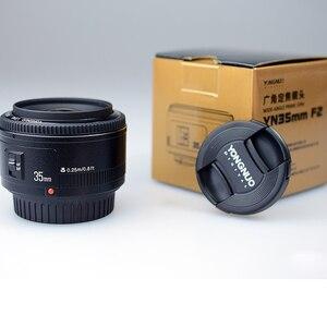 Image 5 - Ulanzi Yongnuo 35mm Lens YN35mm F2 canon lensi Geniş açı Büyük Diyafram Sabit Otomatik odak lensi EF Dağı EOS Kamera w Lens Çantası