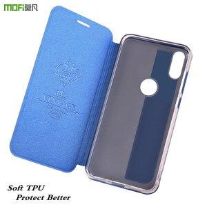 Image 4 - Étui à rabat dorigine MOFi pour Xiaomi A2 étui en polyuréthane thermoplastique pour Xiomi Mi A2 cuir PU pour xiaomi 6X Silicone