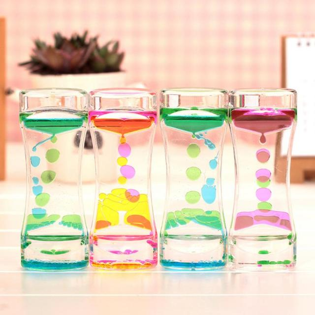 Lowest Price Floating Color Mix Illusion Timer Liquid Motion Visual Desk  Toy Decor cae8c80000