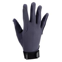 Для мужчин Для женщин дети полный палец профессиональный анти-скольжения Верховая езда перчатки Конный Guantes XS/S/M/L /xl