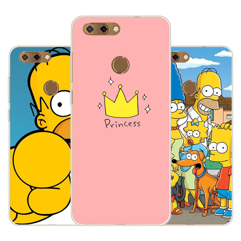 zte blade v9 Case,Silicon Joy crown cartoon Painting Soft TPU Back Cover for zte blade v9 protect Phone cases