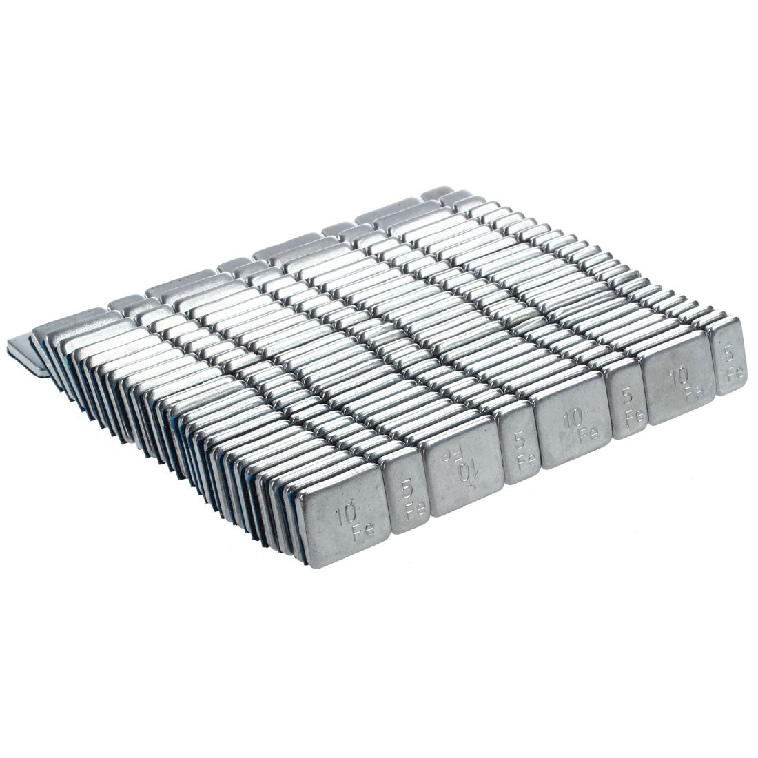 AUTO 25 Pcs 2.1 Oz 60g Tyre Tire Wheel Balance Weights Strips For Car