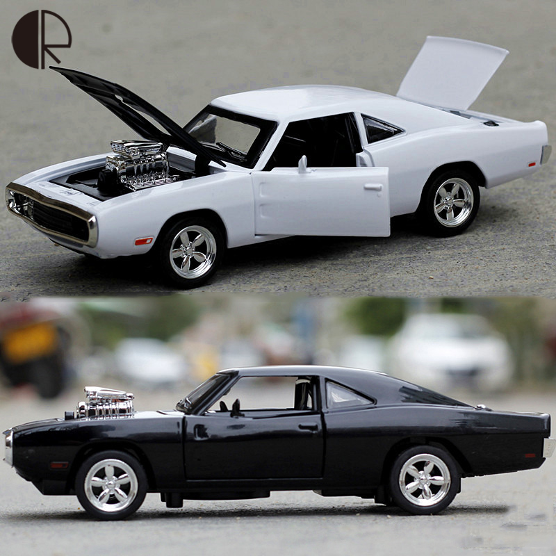 1:32 Fast & Furious 7 Dodge Charger Flashing Tire Volver Coches electrónicos Ale