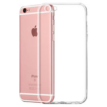 1pcs kawaii Ultra Fina e Macia TPU shell caso do telefone móvel Aplicável para iphone 7plus ou 8plus capa protetora shell transparente(China)