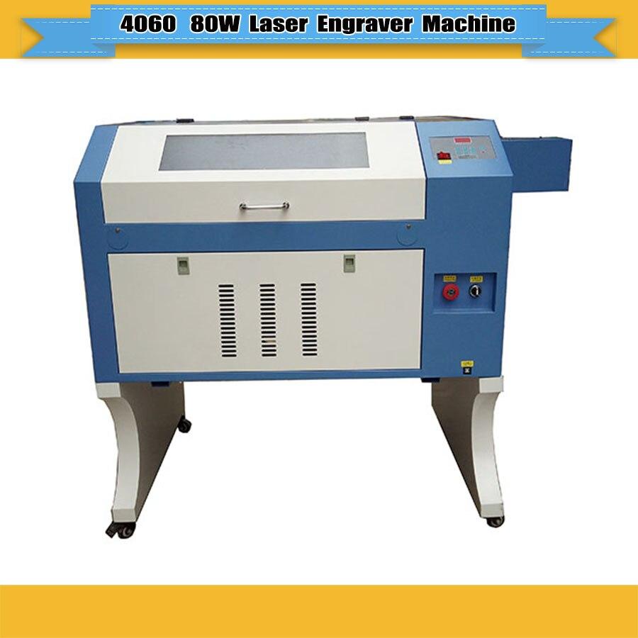 4060 50 W 60 W 80 W 90 W CO2 machine de gravure laser jeans machine d'impression laser 400*600mm JIN ZHI YIN