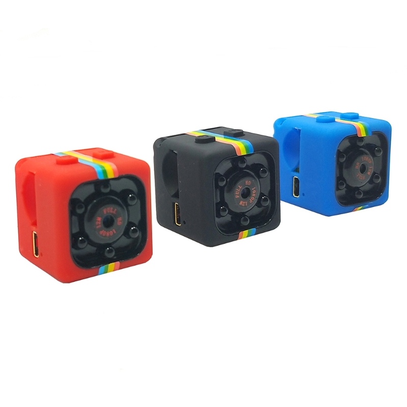 SQ11 Mini Camera HD 1080P Night Vision Camcorder Infrared Video Support TF Card Xianjia Drop Ship
