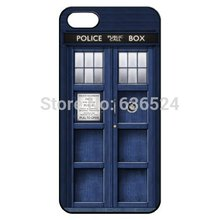 Tardis Doctor Who Police Box Hard Cover for iPhone