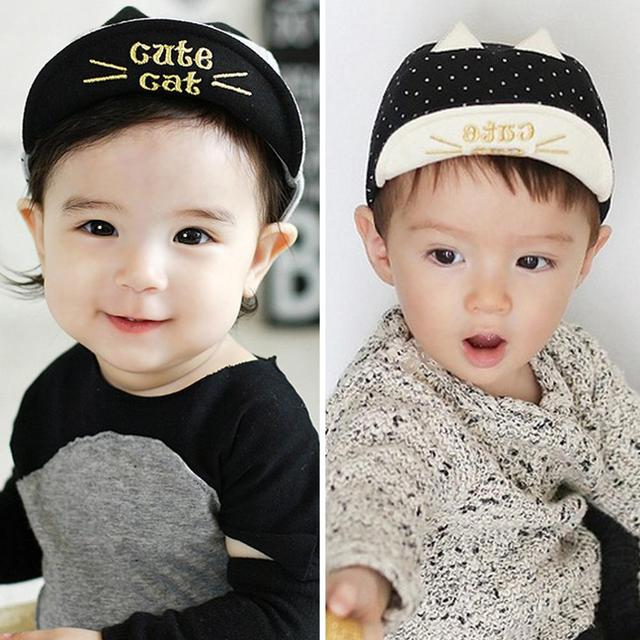 Baby Hat Spring Summer Baby Hats Baseball Cap Baby Boy Beret Baby Girls Sun  Hat Navy 69bd818eef7