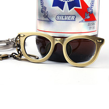 Funny Glasses Style Beer Bottle Opener Personality Bag Ornaments Portable Beer Opener