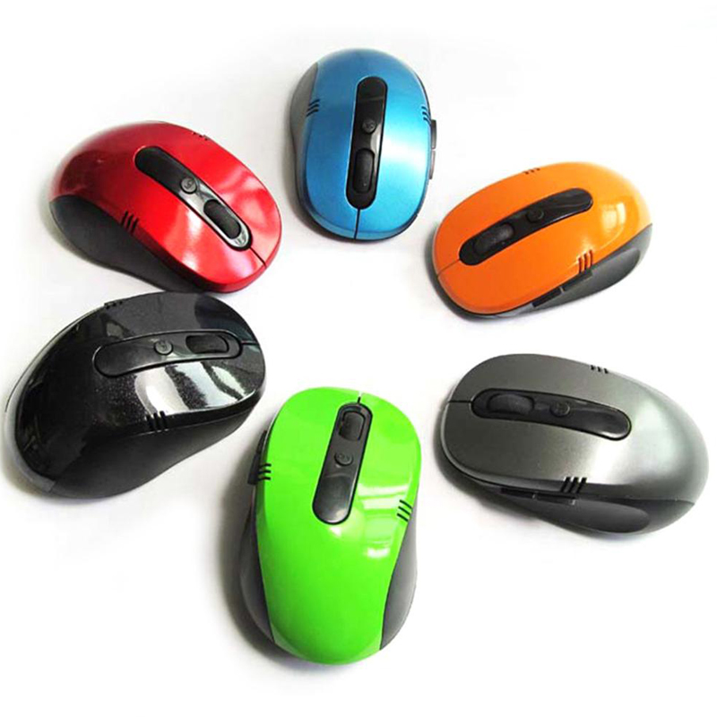 ed8587cef9 Mini 2.4G Wireless Optical Mouse for Notebooks Desktop Computers Receiver  with USB Interface 7100 Wireless Mouse