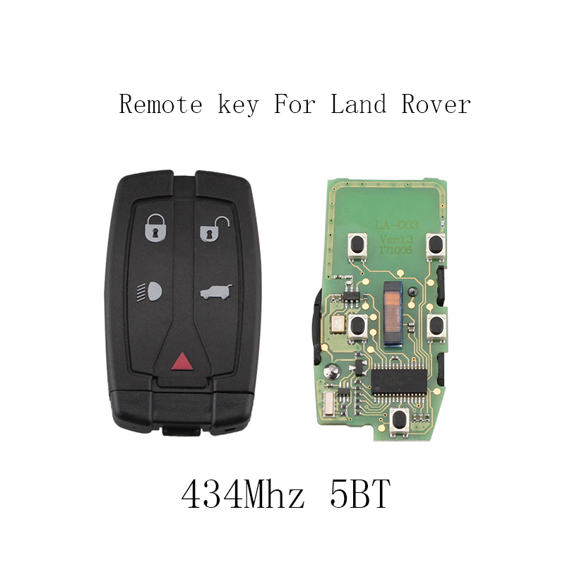 5Button Smart Remote Car Key 433MHz DIY for Land Rover Freelander 2 LR2 Sport for Land Rover Freelander 2 2008-2012 Original Key petrol engine timing tool kit for land rover freelander rover mgzt v6