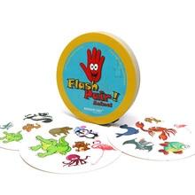 ROMANCARD 2017 neue brettspiel flash paar spot es tiere familie spielen für kinder kinder geschenk für freunde kartenspiele
