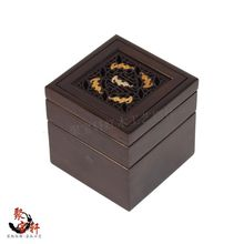 Carved mahogany fashionable ashtray household act the role ofing is tasted red acid branch arts and crafts