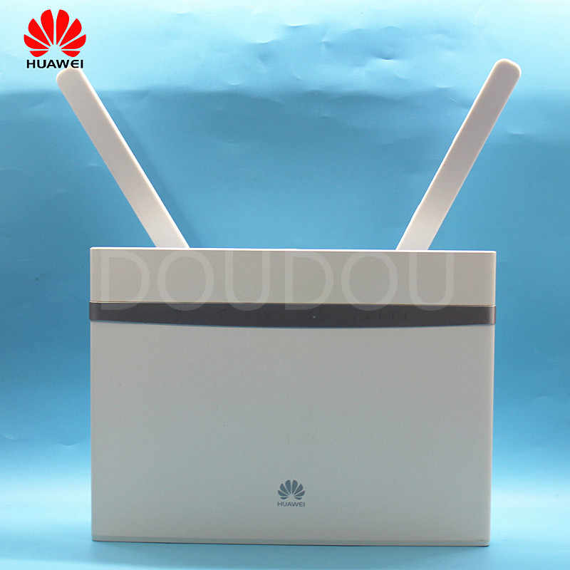 Unlocked Huawei B525 B525s-65A 4G 300 Mbps LTE CPE Wifi Router met SIM Card Slot 4G Draadloze Router met Antenne PK E5186 B315
