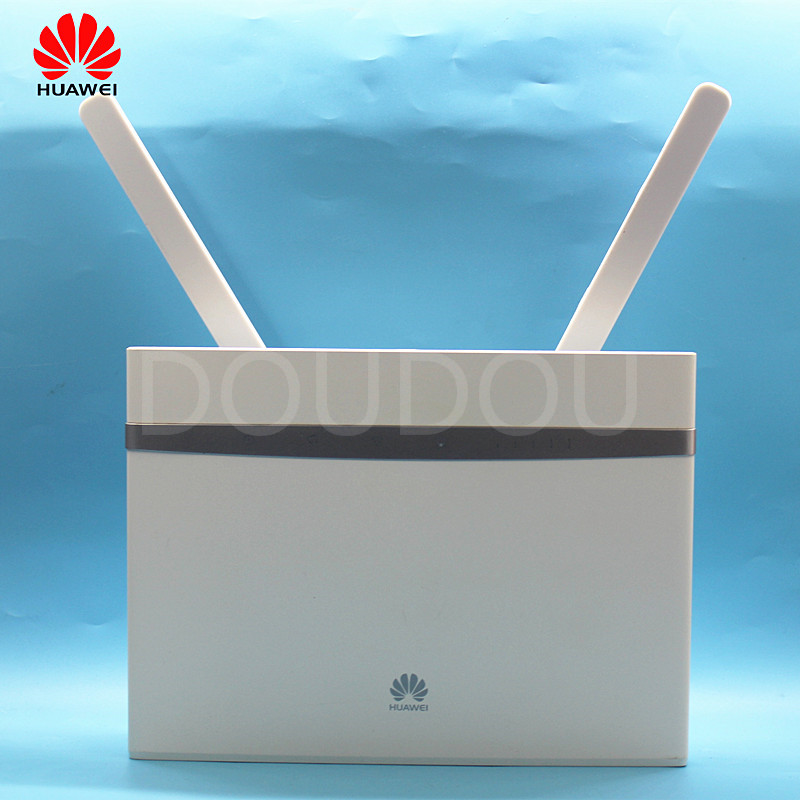 Huawei Used B525 B525s-65A 4G 300Mbps LTE CPE Wifi Router With SIM Card  4G  Wireless  Router With Antenna 3g 4g Router PK E5186
