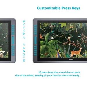 Image 5 - Huion KAMVAS GT 221 Pro stylo affichage tablette moniteur graphique dessin moniteur 21.5 pouces 8192 niveaux avec des cadeaux gratuits