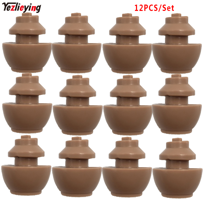 12PCS/Set 1/6 Scale Short Neck Joint Connectors Model Toys Accessories For 12HT/TTL Carving Head Action Figure Doll Body Toys