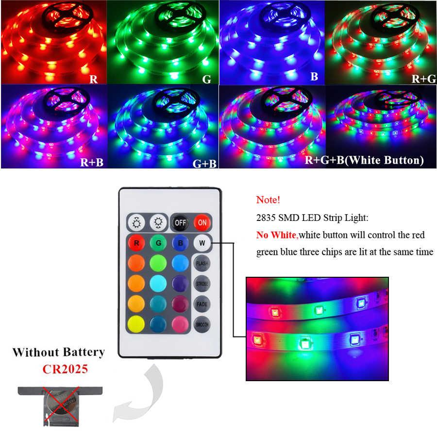 RGB светодиодные ленты 15 м 20 м светодиодный свет лента SMD 2835 5 м 10 м DC 12 В водонепроницаемый RGB светодиодный диодный свет лента гибкий контроллер