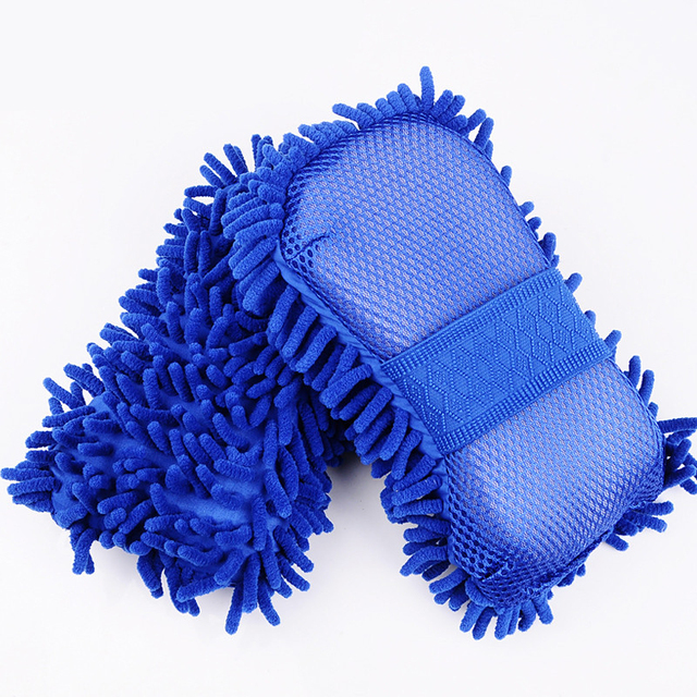 Microfiber Car Washer Sponge Cleaning Car Care Detailing Brushes Washing Cloth Towel Auto Gloves Styling Wash Accessories