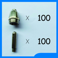 Very Useful SG 55 AG 60 Plasma Torch Spare Parts KIT Many People Like Nozzles TIPS