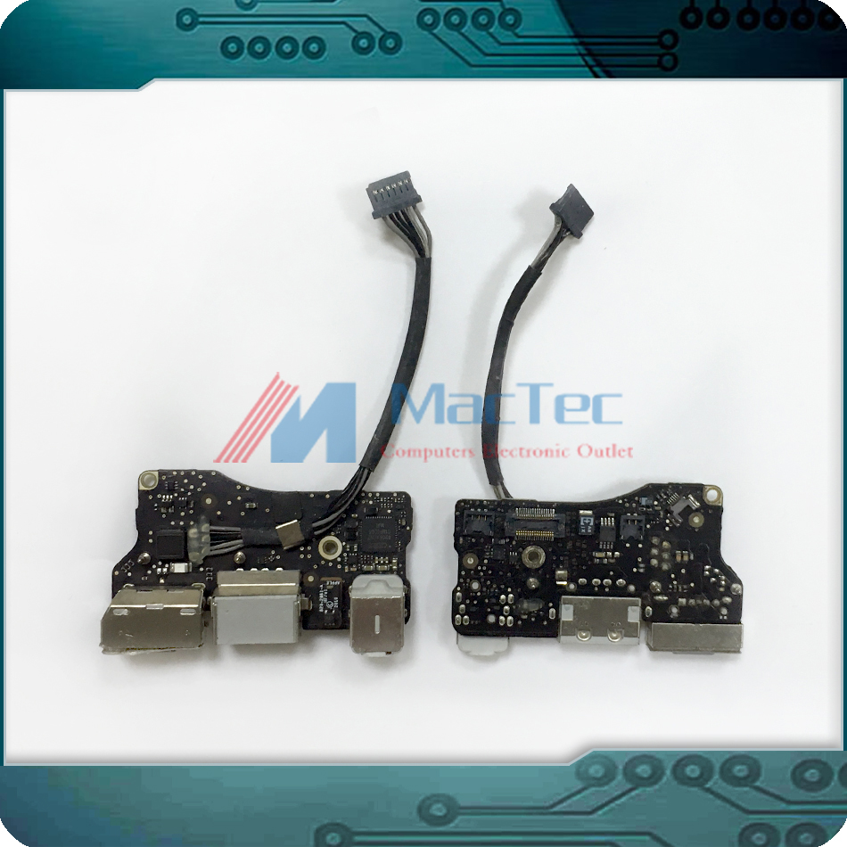 Genuine Used USB DC Jack Audio Power Board 820-2861-A for Apple MacBook Air 13 A1369 Late 2010 MC503 MC504 EMC 2392 Tested! newest raceface next sl road bike ud full carbon fibre saddle spider web mountain bicycle front seat mat mtb parts free shipping