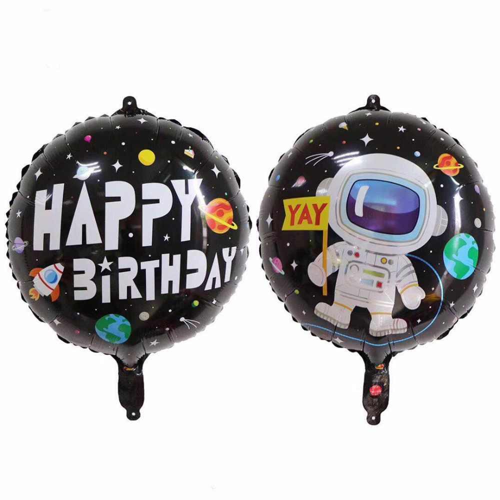1 Máy Tính Phi Hành Gia Tàu Tên Lửa Bóng Bay Galaxy 4D Trái Đất Robot  Ballons Bé Trai Sinh Nhật Trang Trí Trẻ Em Ủng Hộ Đồ Chơi Bơm Hơi|