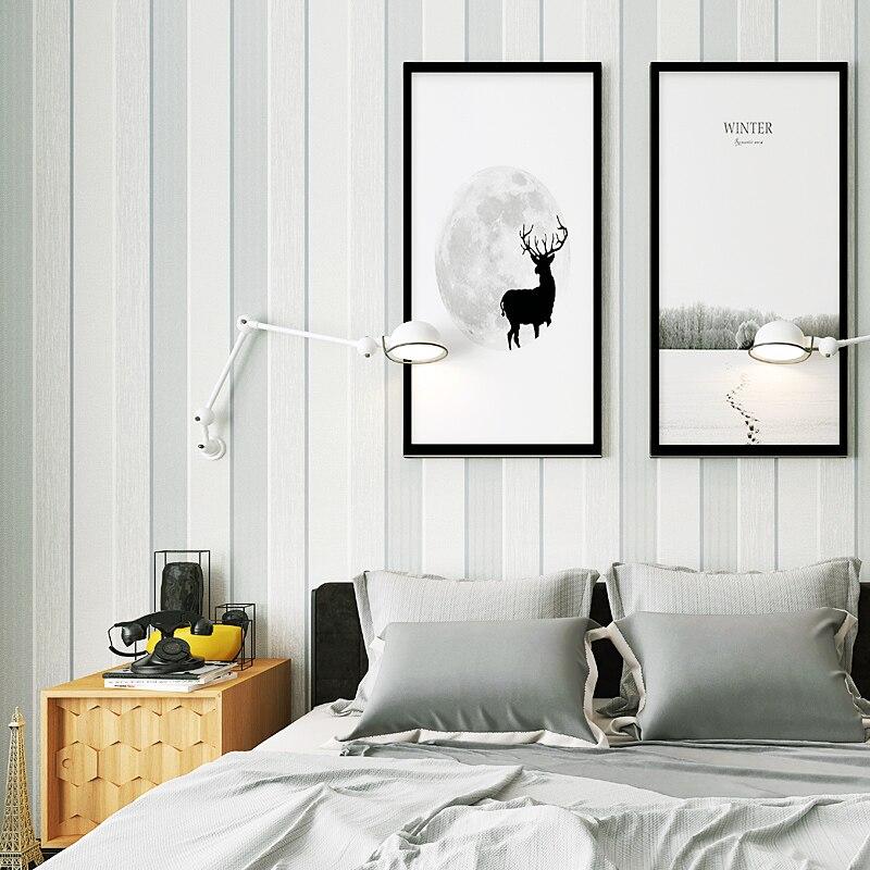 living background sofa gray bedroom tv 3d fabric wallpapers woven non strip decor