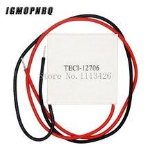 50 pièces/lot TEC1 12706 12v 6A TEC thermoélectrique refroidisseur Peltier, tec1 12706 en gros