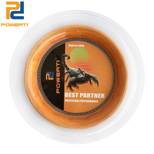 POWERTI 200m Reel Badminton Racket String 0.72mm Round Training String Orange Badminton Racquet Sport String цены
