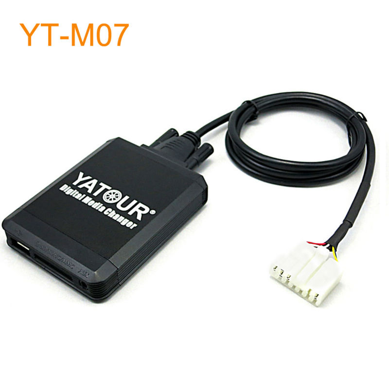 Car MP3 USB SD CD Changer for iPod AUX with Optional Bluetooth for Toyota Sienna Supra Tacoma Altis Yaris car digital music changer usb sd aux adapter audio interface mp3 converter for toyota yaris 2006 2011 fits select oem radios
