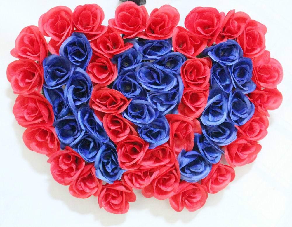 Подарок на день Святого Валентина, имитация, увлажняющая Роза, домашний стол, цветочное украшение, для учителя, украшение для праздника, укр... - 2