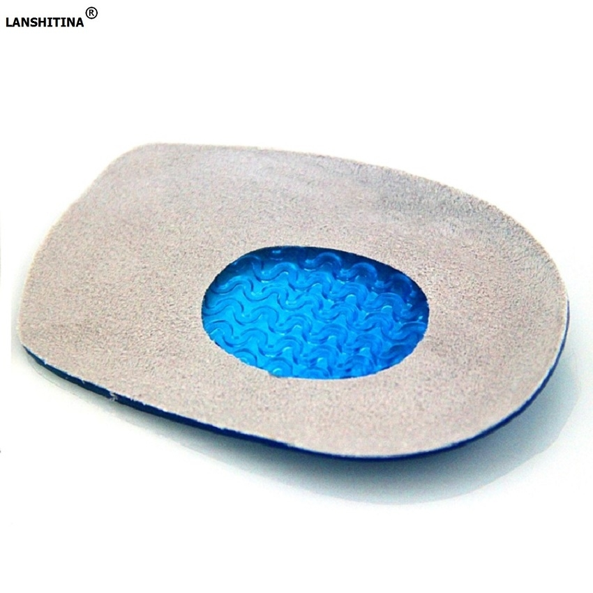 Silicone Gel Insoles Shoes Soles Heel Pad Orthopedic Insoles Plantar Fasciitis Shoes Accessories Inserts Massage Foot Pad Care 2 pcs foot care insoles invisible cushion silicone gel heel liner shoe pads heel pad foot massage womens orthopedic shoes z03101