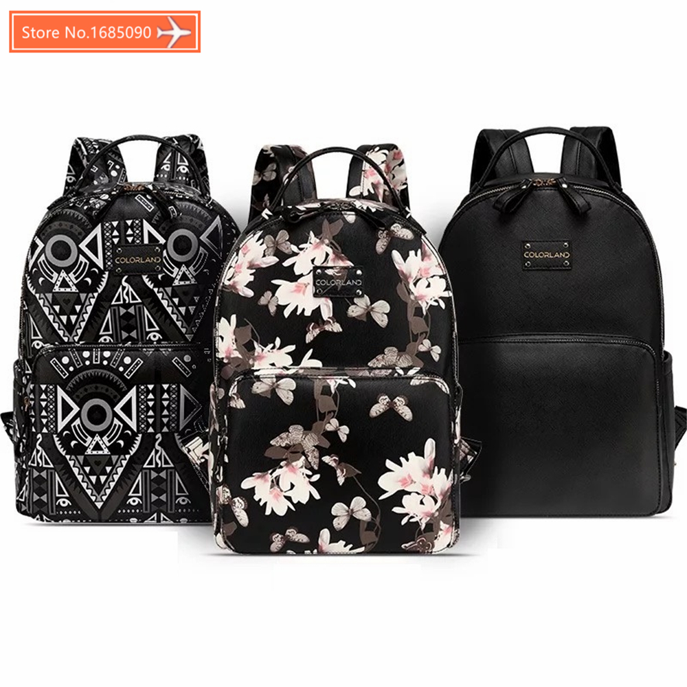 Diaper bag PU Leather fanshion baby Care Nursing mummy maternity nappy organizer brand mom backpack handbags 2018 NEW