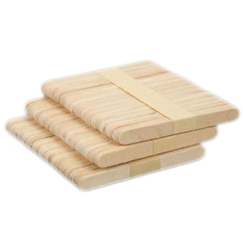 New 50Pcs Wooden Popsicle Puzzle Stick Kids Hand Crafts Art Ice Cream Lolly Cake DIY Making Funny Children gift