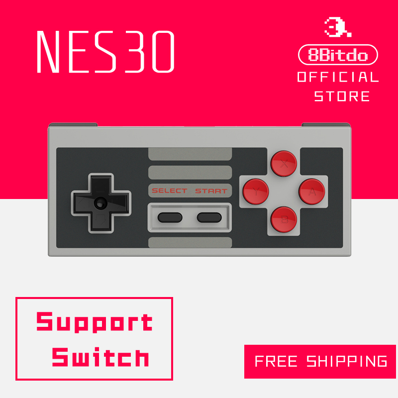 8Bitdo NES30 FC30 Bluetooth Controller Support Switch Android MacOS Steam Window font b Gamepad b font