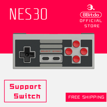 8Bitdo NES30 FC30 Bluetooth Controller Support Switch Android MacOS Steam Window Gamepad warefirm 4.0