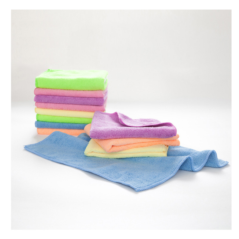 Towel Microfiber Toalla Microfibra Towels Hair Towel Kitchen Clean Super Absorbent Car Care Wax Polishing 30x30cm