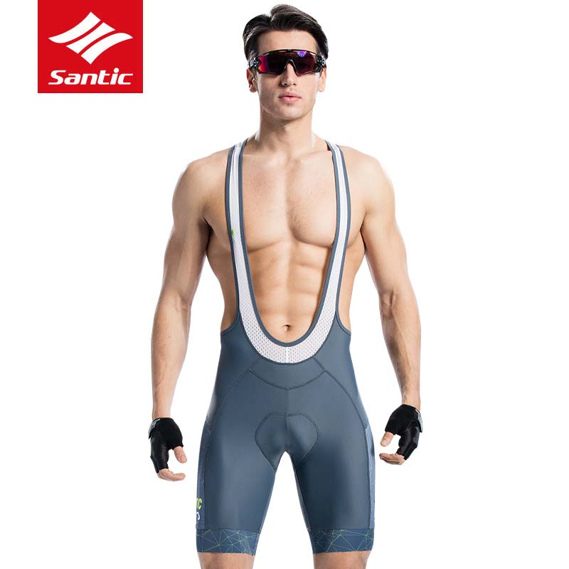 Santic Men Cycling 4D Padded Bib Short Summer Pro Fit Shorts MTB Road Bike Riding Bib Short Quick Dry Sport Clothing for Bicycle santic men cycling bib shorts bibs 4d padded for long distance rides comfortable breathable quick dry bike bicycle bib shorts