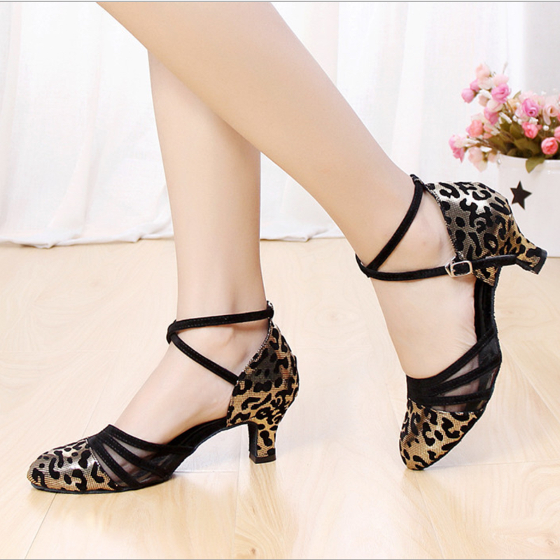 Tiejian Hot Sales Women Latin Dance Shoes Heeled Ballroom Dancing Shoes For Ladies Girls Tango Wholesales Dorpshopping Sales L7a
